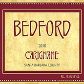 贝福德酒庄佳丽酿干红葡萄酒(Bedford Carignane,Santa Barbara County,USA)