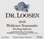 露森温勒内日晷园雷司令迟摘白葡萄酒(Dr. Loosen Wehlener Sonnenuhr Riesling Spatlese, Mosel, Germany)