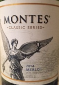 蒙特斯经典系列梅洛干红葡萄酒(Montes Classic Series Merlot,Colchagua Valley,Chile)