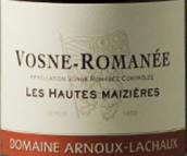 安慕拉夏酒庄上麦泽(沃恩-罗曼尼村)红葡萄酒(Domaine Arnoux-Lachaux Les Hautes Maizieres, Vosne-Romanee, France)