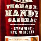 托马斯H汉迪萨泽瑞克纯黑麦威士忌(Thomas H.Handy Sazerac Straight Rye Whiskey,Kentucky,USA)