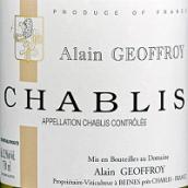 阿兰·杰弗里莱酒庄夏布利白葡萄酒(Domaine Alain Geoffroy Chablis,Burgundy,France)