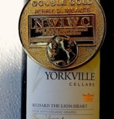 约克维尔理查德狮子心干红葡萄酒(Yorkville Cellars Richard The Lion Heart, Yorkville Highlands, USA)
