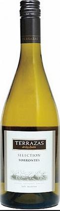 安第斯台阶精选特浓情干白葡萄酒(Terrazas de los Andes Selection Torrontes,Salta,Argentina)