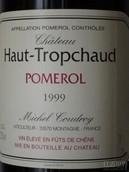 托普查德混酿红葡萄酒(Chateau Haut-Tropchaud, Pomerol, France)