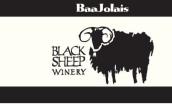 黑羊巴若莱神索红葡萄酒(博若莱新酒风格)(Black Sheep Baajolais Cinsault,Claveras County,USA)