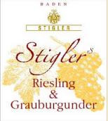 施蒂格勒雷司令-灰皮诺干型小房酒(Weingut Stigler Riesling & Grauburgunder Kabinett trocken, Baden, Germany)