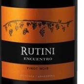 露迪尼印搓黑皮诺干红葡萄酒(Rutini Wines Encuentro Pinot Noir,Tupungato,Argentina)