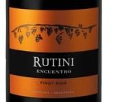 露迪尼印搓黑皮诺干红葡萄酒(Rutini Wines Encuentro Pinot Noir, Tupungato, Argentina)