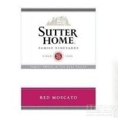 舒特家族红色麝香干白葡萄酒(Sutter Home Red Moscato, California, USA)