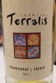 风之语大地霞多丽-白诗南干白葡萄酒(Trivento Terralis Chardonnay-Chenin,Mendoza,Argentina)