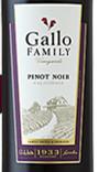 嘉露家族园黑皮诺干红葡萄酒(Gallo Family Vineyards Pinot Noir,California,USA)