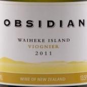 黑曜石维欧尼干白葡萄酒(Obsidian Viognier,Waiheke Island,New Zealand)