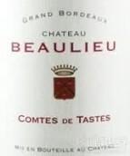 博利欧孔特干红葡萄酒(Chateau Beaulieu Comtes de Tastes,Bordeaux,France)