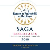 拉菲传说波尔多干白葡萄酒(Barons de Rothschild Collection(Lafite)Saga Blanc,Bordeaux,...)