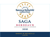 拉菲传说波尔多干白葡萄酒(Barons de Rothschild Collection(Lafite)Saga Blanc,Bordeaux,...)