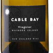 凯伯湾维欧尼干白葡萄酒(Cable Bay Viognier,Waiheke Island,New Zealand)