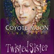 啸月酒庄亲密姐妹半甜型红葡萄酒(Coyote Moon Vineyards Twisted Sister,New York,USA)