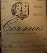 蒂埃里·阿勒曼德酒庄科尔纳斯夏逸奥园干红葡萄酒(Thierry Allemand Cornas les Chaillots,Rhone,France)