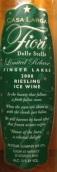 拉尔加星之花雷司令冰白葡萄酒(Casa Larga Fiori delle Stelle Riesling Ice Wine,Finger Lakes...)