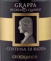 乔拉珂拉达女伯爵格拉帕经典基安帝红葡萄酒(Geografico Contessa di Radda Grappa Chianti Classico DOCG,...)