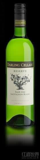 达岭珍藏灌木长相思干白葡萄酒(Darling Cellars Reserve Bush Vine Sauvignon Blanc,Darling,...)