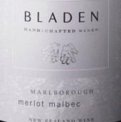 布拉登梅洛-马尔贝克干红葡萄酒(Bladen Merlot - Malbec, Marlborough, New Zealand)
