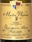 马丁沃斯曼酒庄马格瑞弗朗SW长相思晚收干白葡萄酒(Weingut Martin Wassmer SW Sauvignon Blanc Spatlese, Baden, Germany)