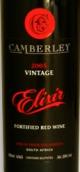 坎布里艾丽西加强酒(Camberly Elixir Port,Stellenbosch,South Africa)