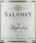 萨洛蒙帕菲博格雷司令干白葡萄酒(Weingut Salomon-Undhof Pfaffenberg Riesling, Kremstal, Austria)
