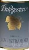 桥景琼瑶浆白葡萄酒(Bridgeview Vineyards Gewurztraminer, Oregon, USA)