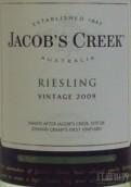 杰卡斯雷司令干白葡萄酒(Jacob's Creek Riesling, South Eastern Australia, Australia)