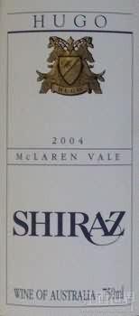 Hugo Shiraz,McLaren Vale,Australia