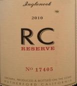 伊哥诺酒庄RC珍藏西拉干红葡萄酒(Inglenook RC Reserve Syrah, Rutherford, USA)