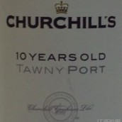 丘吉尔10年茶色波特酒(Churchill's 10 Years Old Tawny Port,Douro,Portugal)