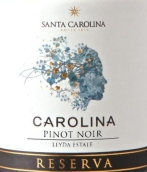 圣卡罗珍藏黑皮诺干红葡萄酒(Santa Carolina Reserva Pinot Noir,Leyda Valley,Chile)