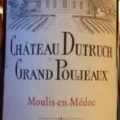 杜特利-格朗宝捷酒庄干红葡萄酒(Chateau Dutruch Grand Poujeaux,Moulis,France)