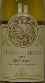 阿凡瓜迪亚克里斯洛白羽-白皮诺-灰皮诺-香瓜混酿干白葡萄酒(Avanguardia Cristallo Rkatsiteli-Pinot Blanc-Pinot Gris-...)
