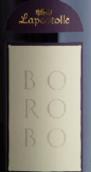拉博丝特宝罗博干红葡萄酒(Casa Lapostolle Borobo,Chile)