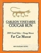 卡尔森美洲狮肥猫麝香干白葡萄酒(Carlson Vineyards Cougar Run Fat Cat Orange Muscat,Grand ...)