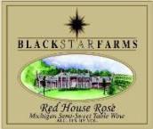 黑星农场红房子威代尔-丹菲特-福煦桃红葡萄酒(Black Star Farms Red House Vidal Dornfelder Foch Rose, Old Mission Peninsula, USA)