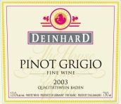 丹赫灰皮诺白葡萄酒(Deinhard Pinot Grigio Qba,Baden,Germany)