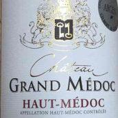 大梅多克酒庄红葡萄酒(Chateau Grand Medoc,Haut Medoc,France)