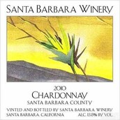圣巴巴拉霞多丽干白葡萄酒(Santa Barbara Winery Chardonnay,Santa Barbara County,USA)