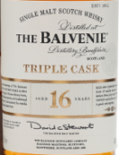 百富16年三桶苏格兰单一麦芽威士忌(The Balvenie Aged 16 Years Triple Cask Single Malt Scotch ...)