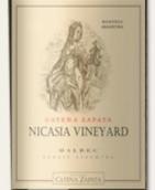 卡帝娜尼卡西亚园马尔贝克红葡萄酒(Bodega Catena Zapata Nicasia Vineyard Malbec, Mendoza, Argentina)