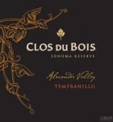 宝林酒堡索诺玛珍藏丹魄干红葡萄酒(Clos du Bois Sonoma Reserve Tempranillo, California, USA)