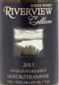 河景酒庄安吉丽娜珍藏琼瑶浆干白葡萄酒(Riverview Cellars Winery Angelina's Reserve Gewurztraminer,...)