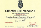 武戈伯爵酒庄(香波-慕西尼村)干红葡萄酒(Domaine Comte Georges de Vogue Chambolle-Musigny,Cote de ...)