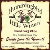 蜂鸟山酒庄猎犬白葡萄酒(Hummingbird Hills Hound Dawg White,New York,USA)